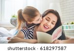happy mother's day  child... | Shutterstock . vector #618297587