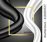 modern background with frame....   Shutterstock .eps vector #618303527