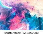 cold multicolor beautiful... | Shutterstock . vector #618359003