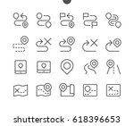 navigation ui pixel perfect... | Shutterstock .eps vector #618396653