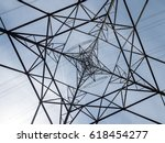 electricity pylon abstract....