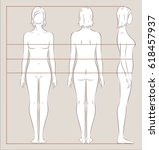vector illustration of women's... | Shutterstock .eps vector #618457937