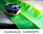 Charcoal In Coconut Shell For...