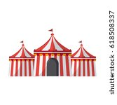 circus tent icon | Shutterstock .eps vector #618508337