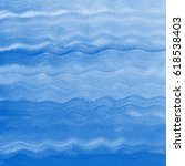 painted sea  ocean  swimming... | Shutterstock . vector #618538403