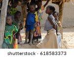 tamberma vil  togo   jan 13 ...   Shutterstock . vector #618583373