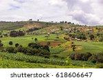 rural african landscape near... | Shutterstock . vector #618606647