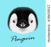 vector illustrated portrait of... | Shutterstock .eps vector #618633017