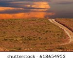 road in the desert | Shutterstock . vector #618654953