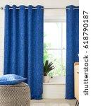 interior design with a window.... | Shutterstock . vector #618790187