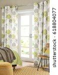 modern design bedroom interior  | Shutterstock . vector #618804077
