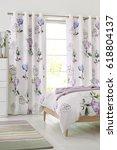 modern design bedroom interior  | Shutterstock . vector #618804137