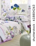 modern design bedroom interior  | Shutterstock . vector #618804263