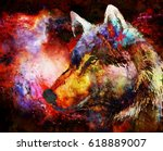 Wolf Portrait  Mighty Cosmical...