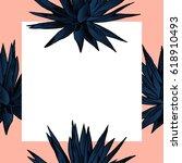 exotic flowers set. botanical...   Shutterstock .eps vector #618910493