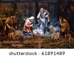 Nativity Scene With Hand...