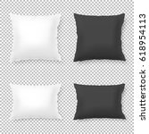 vector realistic blank white ...   Shutterstock .eps vector #618954113