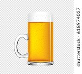 beer vector illustration | Shutterstock .eps vector #618974027
