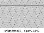 triangle seamless grey pattern  ... | Shutterstock . vector #618976343
