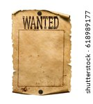 Wanted For Reward Poster 3d...