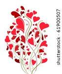love decoration | Shutterstock .eps vector #61900507