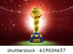 confederations cup. golden... | Shutterstock . vector #619034657