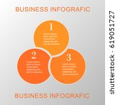 business diagram circle | Shutterstock .eps vector #619051727