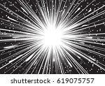 background of radial lines for... | Shutterstock .eps vector #619075757