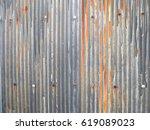 Rusty Old Zinc Texture...