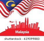 vector illustration of malaysia ... | Shutterstock .eps vector #619099883