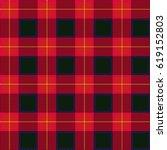 lumberjack plaid pattern.... | Shutterstock .eps vector #619152803