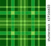 plaid tartan seamless pattern... | Shutterstock .eps vector #619166633