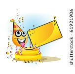 birthday smile | Shutterstock . vector #61921906