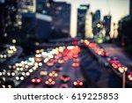 Traffic Lights On The Street....