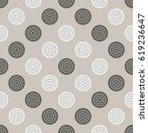 checkers pattern. seamless... | Shutterstock .eps vector #619236647