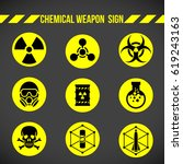 black and yellow chemical...