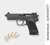 gun vector illustration   Shutterstock .eps vector #619243577