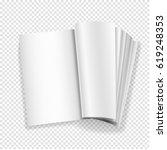 blank book mockups   Shutterstock .eps vector #619248353