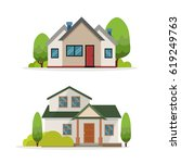 home vector illustration | Shutterstock .eps vector #619249763