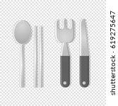 dining tools | Shutterstock .eps vector #619275647