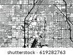 urban vector city map of las... | Shutterstock .eps vector #619282763