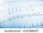 close up of an... | Shutterstock . vector #619288457
