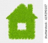 green house | Shutterstock .eps vector #619290107