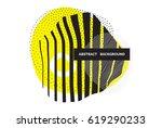 vector minimal design  creative ... | Shutterstock .eps vector #619290233
