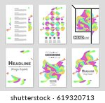 abstract vector layout... | Shutterstock .eps vector #619320713