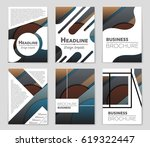 abstract vector layout...   Shutterstock .eps vector #619322447