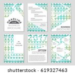abstract vector layout... | Shutterstock .eps vector #619327463
