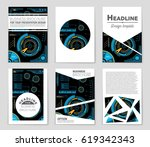 abstract vector layout... | Shutterstock .eps vector #619342343