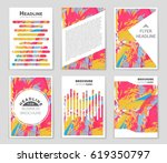 abstract vector layout... | Shutterstock .eps vector #619350797