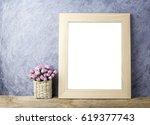 pink paper rose flowers in...   Shutterstock . vector #619377743